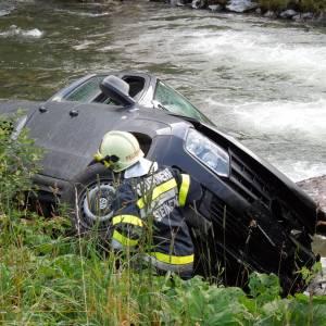 Verkehrsunfall im Sölktal