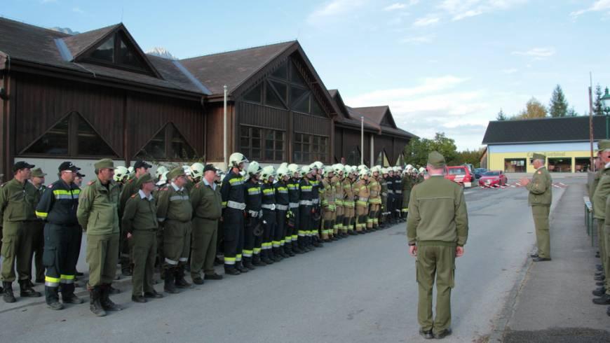 80 Mann absolvierten GAB I & II in Öblarn