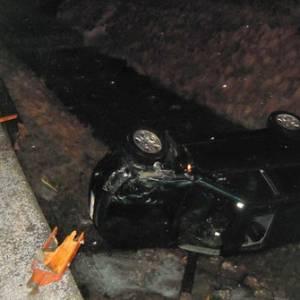 Auto stürzte in Niederöblarn in Bachbett