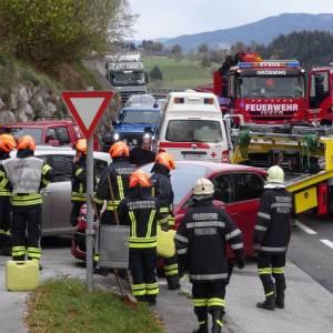 Verkehrsunfall bei Gröbming