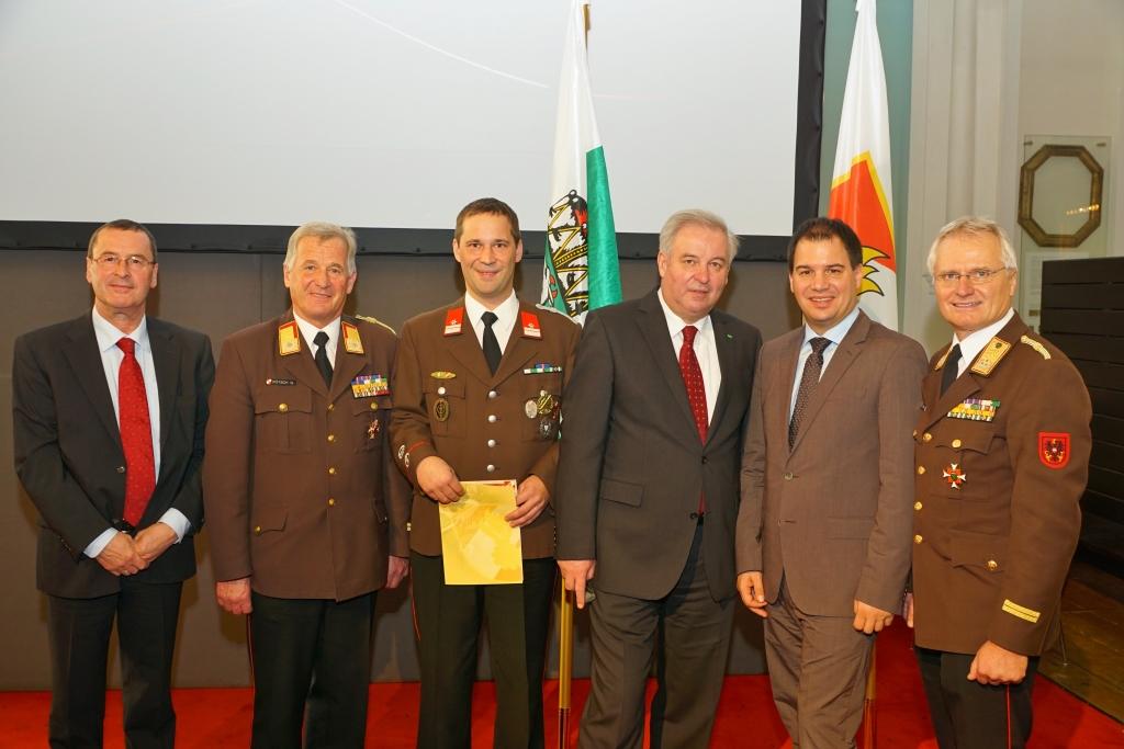 LEBENSRETTUNG: BM Stefan Barczuk erhielt höchste Auszeichnung