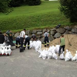 Sölktäler kämpften mit Hochwasser