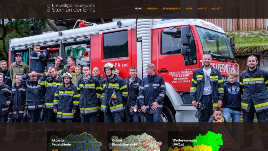Homepage in neuem Design