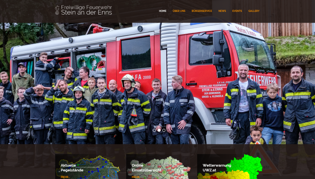 Homepage in neuem Design