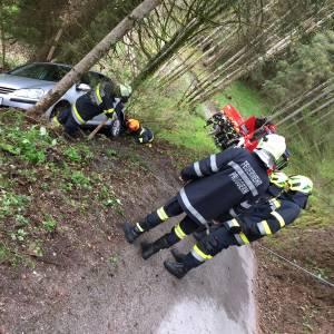 Fahrzeugbergung am Pruggererberg