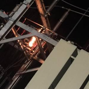 Elektrobrand beim KW-Sölk