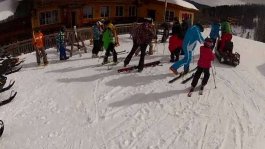 Jugend-Skitag des Abschnittes Gröbming (m. Video)