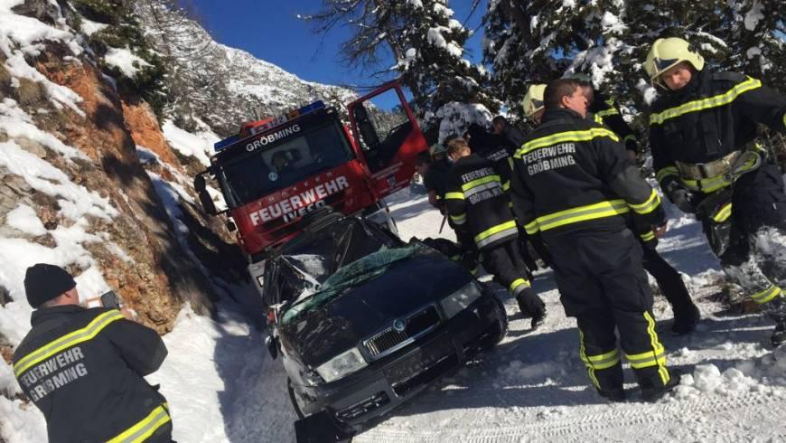 Verkehrsunfall am Stoder