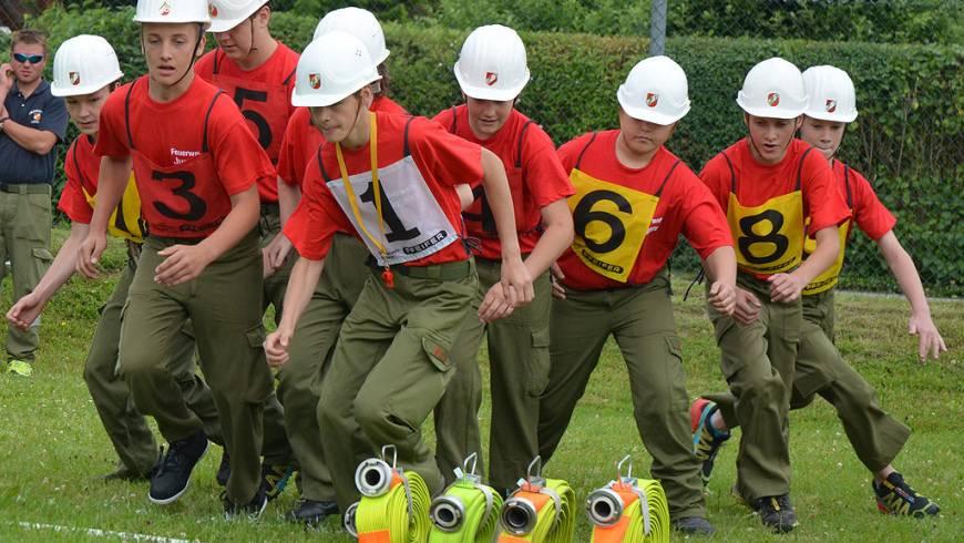2. Feuerwehrjugend-Leistungsbewerb 2015