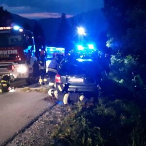Verkehrsunfall am Pruggererberg