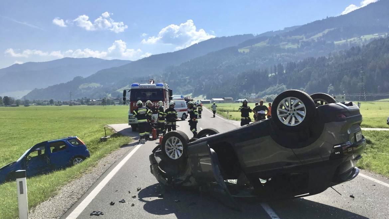 Verkehrsunfall auf der L712
