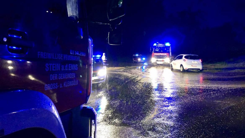 Verkehrsunfall am Michaelerberg